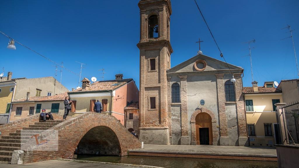 Comacchio, Chiesa del Carmine - Turista a due passi da casa