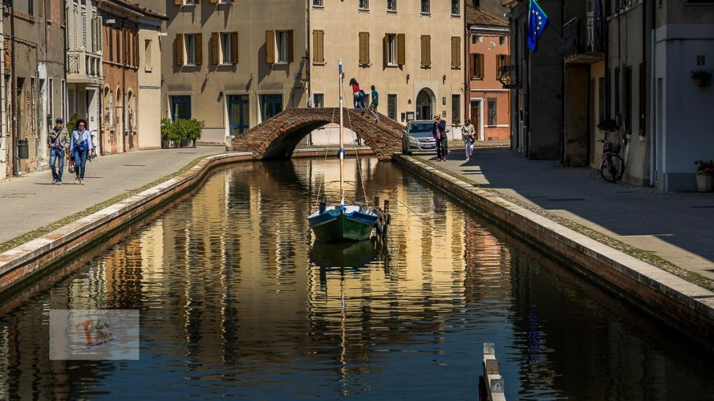 Comacchio, un canale interno - Turista a due passi da casa