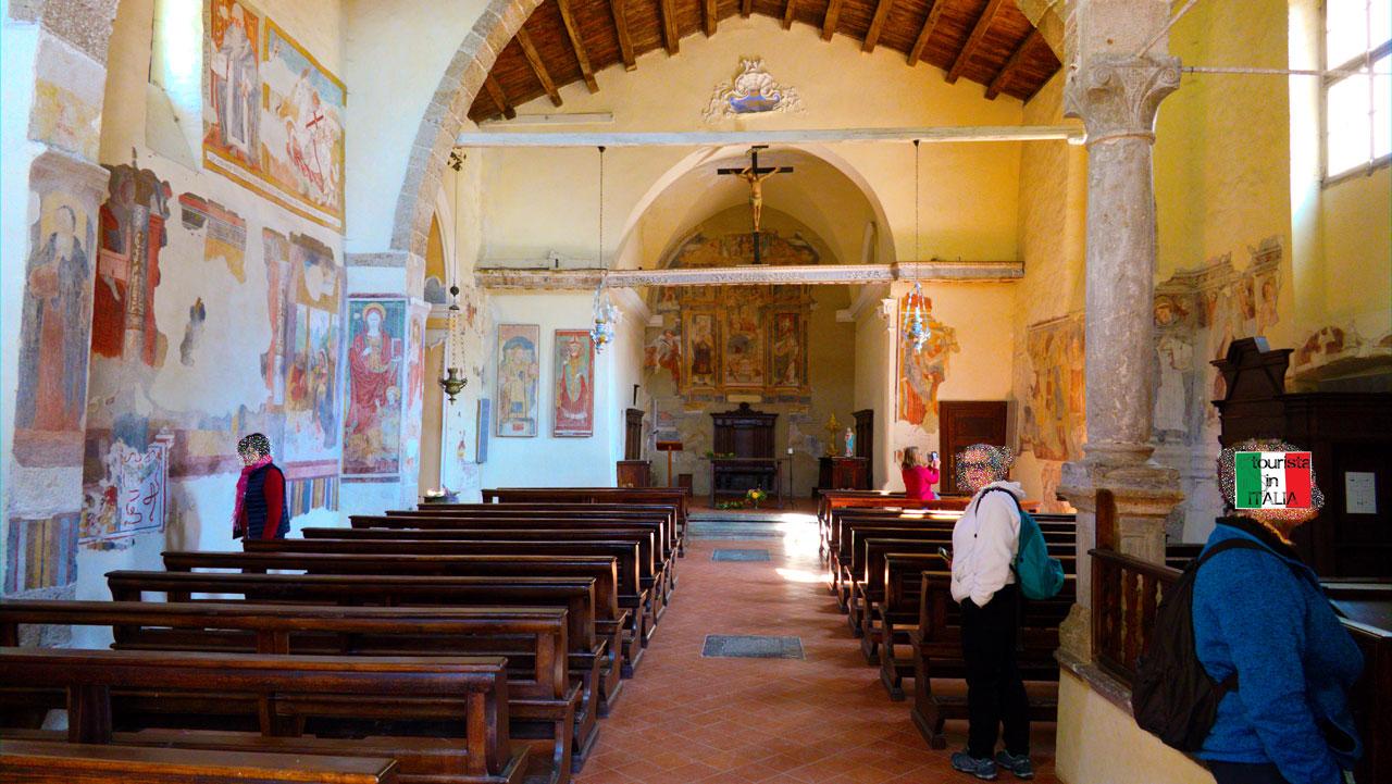 Cornello dei Tasso, chiesa di Sant Antonio, Cipriano e Cornelio