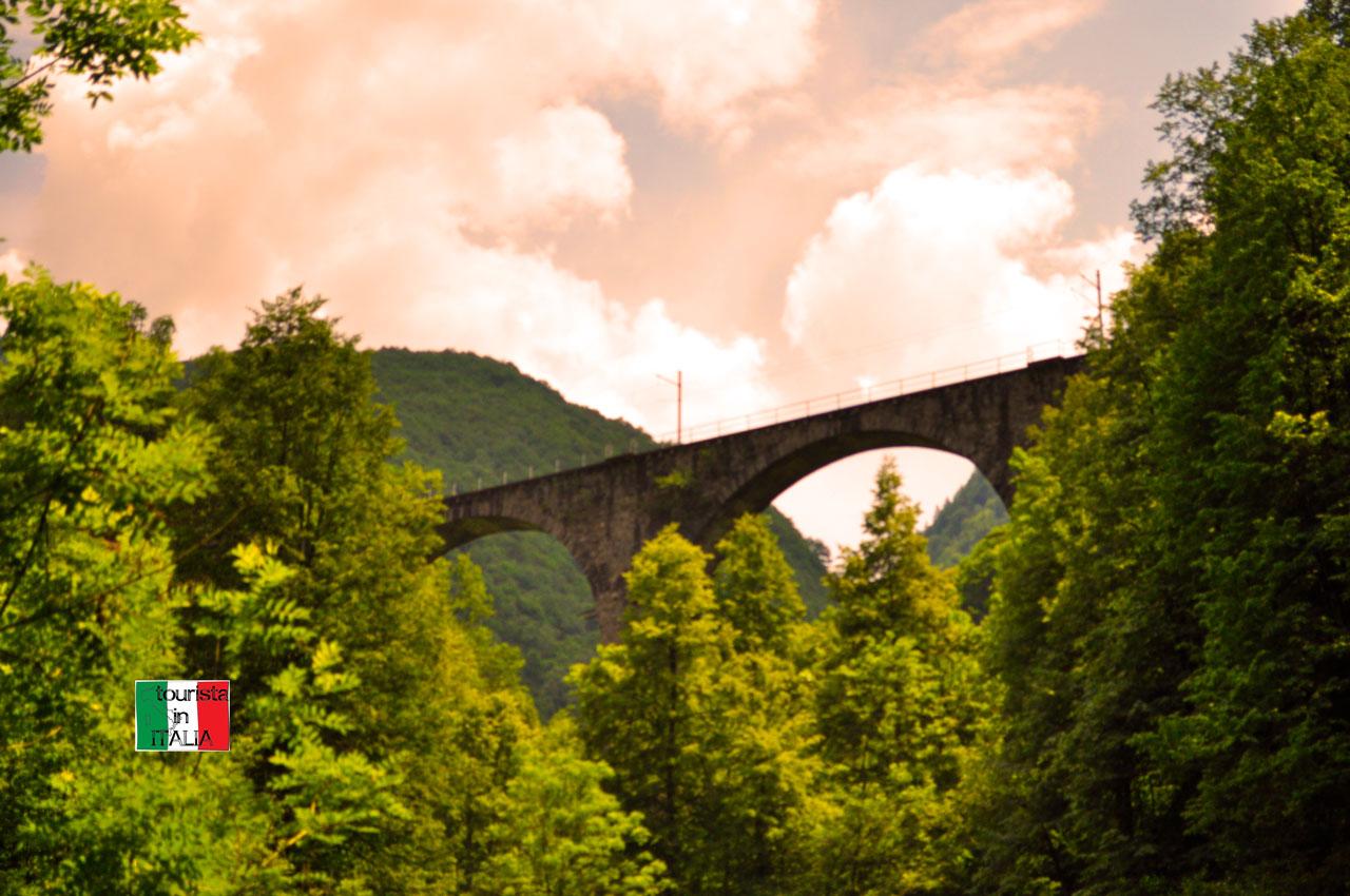 Mulini sul Rio Graglia ponte