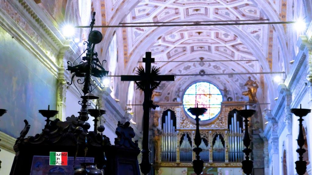 San Benedetto Po abbazia interno