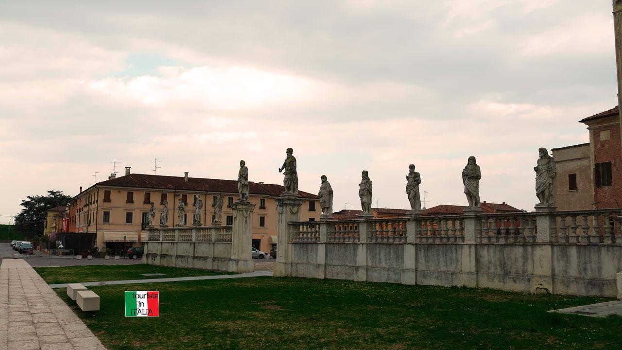 San Benedetto Po, abbazia esterno