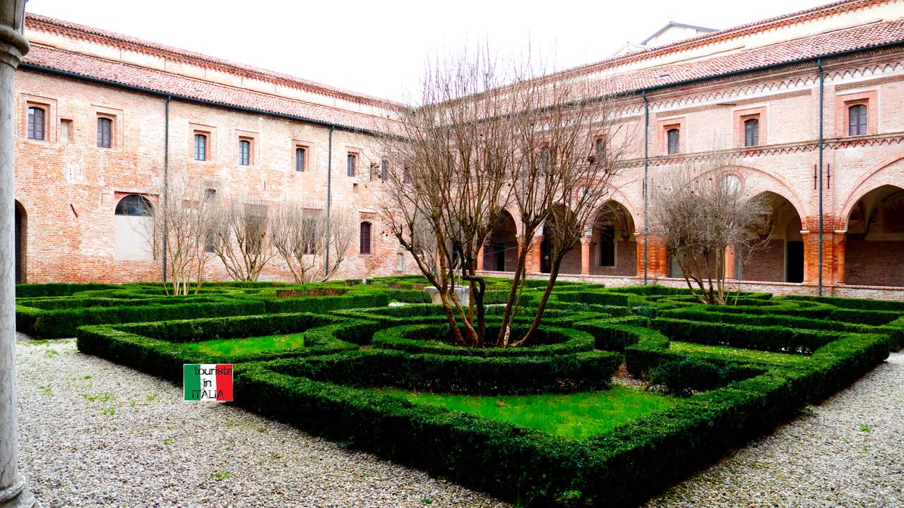 San Benedetto Po, cortile chiostro