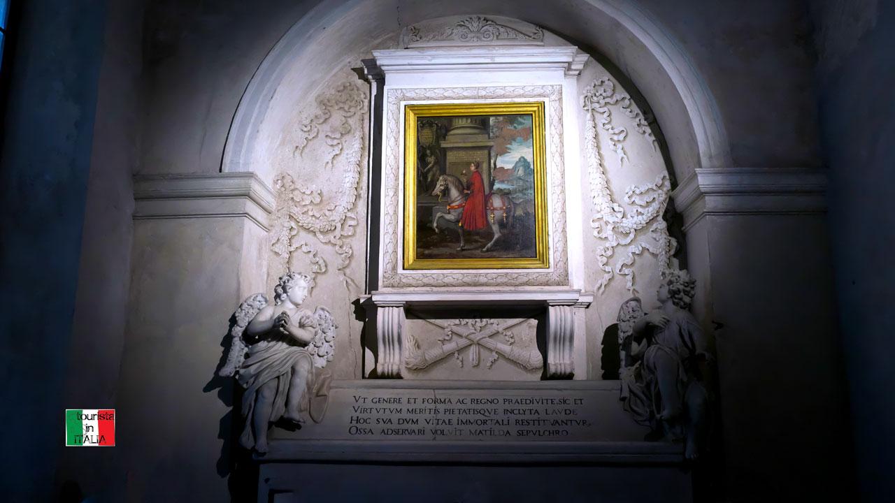 San Benedetto Po, tomba Matilde di Canossa
