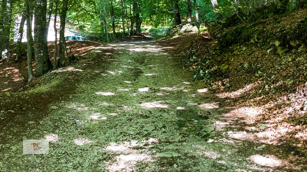 Fonte Romana, lungo il percorso - Turista a due passi da casa