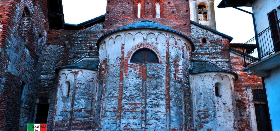 Badia di Dulzago chiesa di san Giulio, Absidi