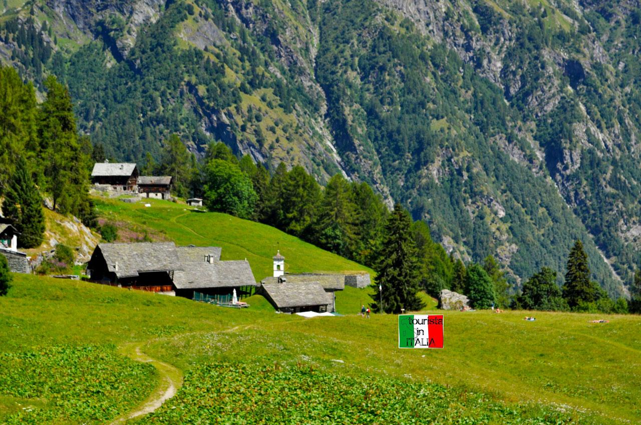 Alagna Valsesia, Follu vista da Dorf