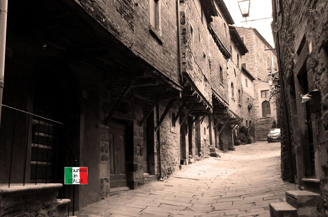 Cortona vicolo Iannelli
