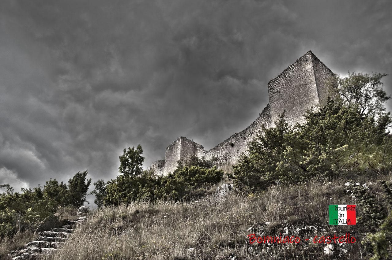 Bomniaco, il castello