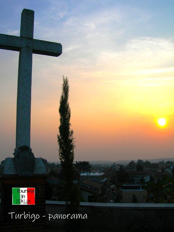 Turbigo, panorama dalla Chiesa della Beata Vergine Assunta