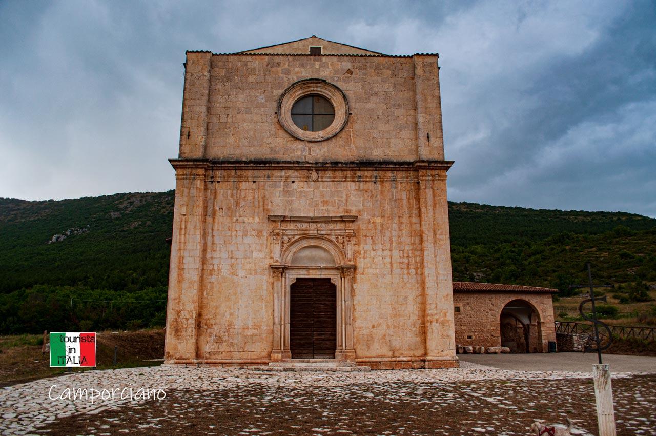 Camporciano, chiesa di Santa Maria dei Cintorelli