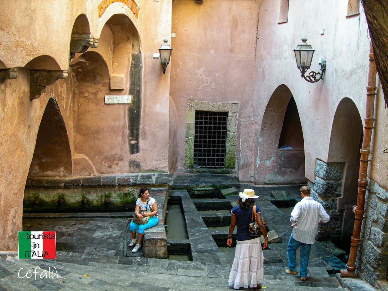 Cefalu, lavatoio medievale