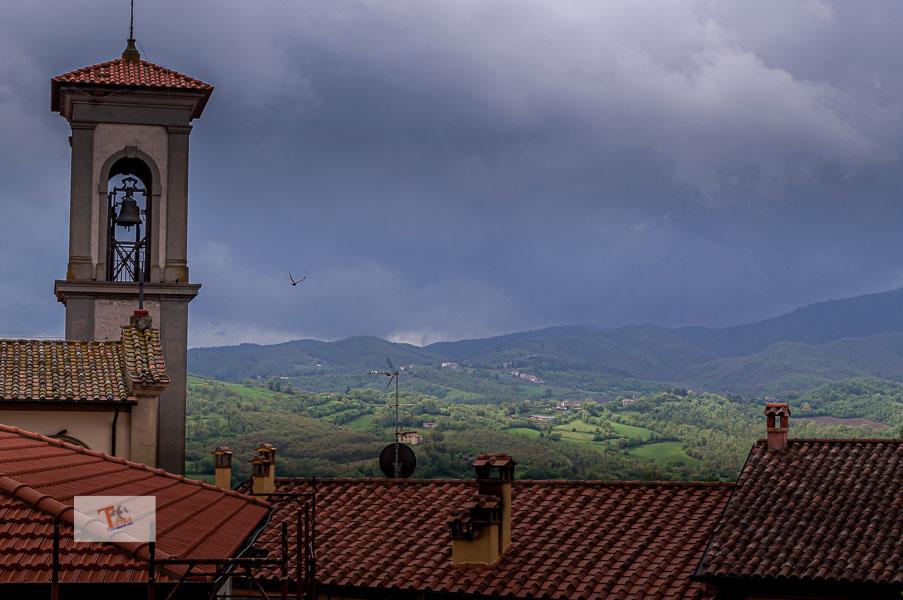 Itinerario Piero della Francesca, Monterchi, scorcio sulla campagna - Turista a due passi da casa