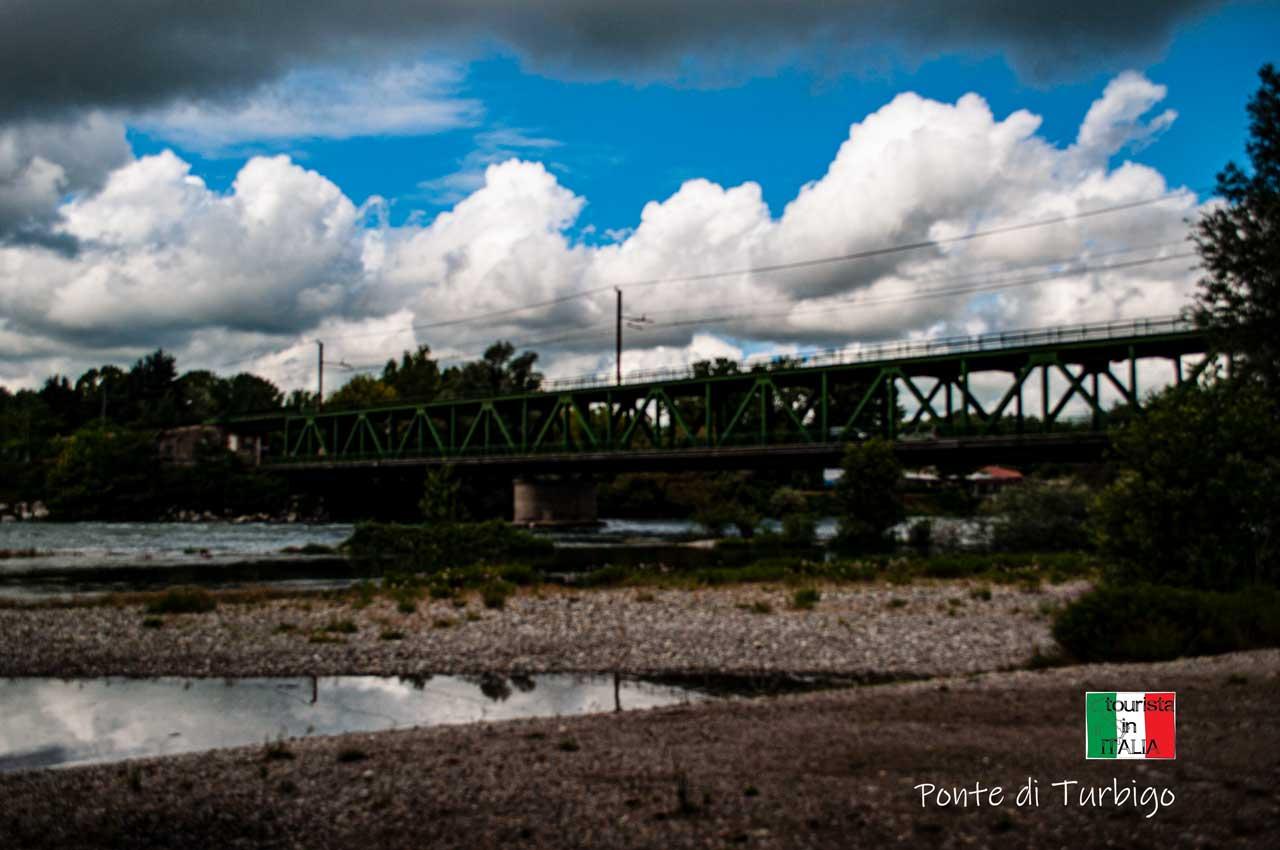 Ponte in ferro di Turbigo (Mi)
