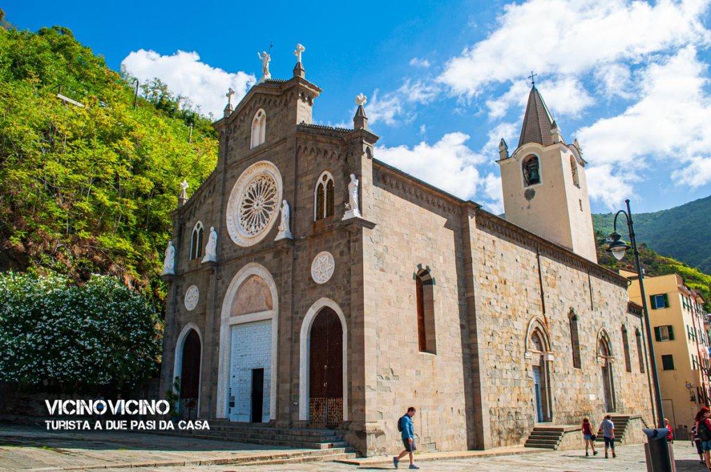 Riomaggiore, chiesa di San Giovanni Battista