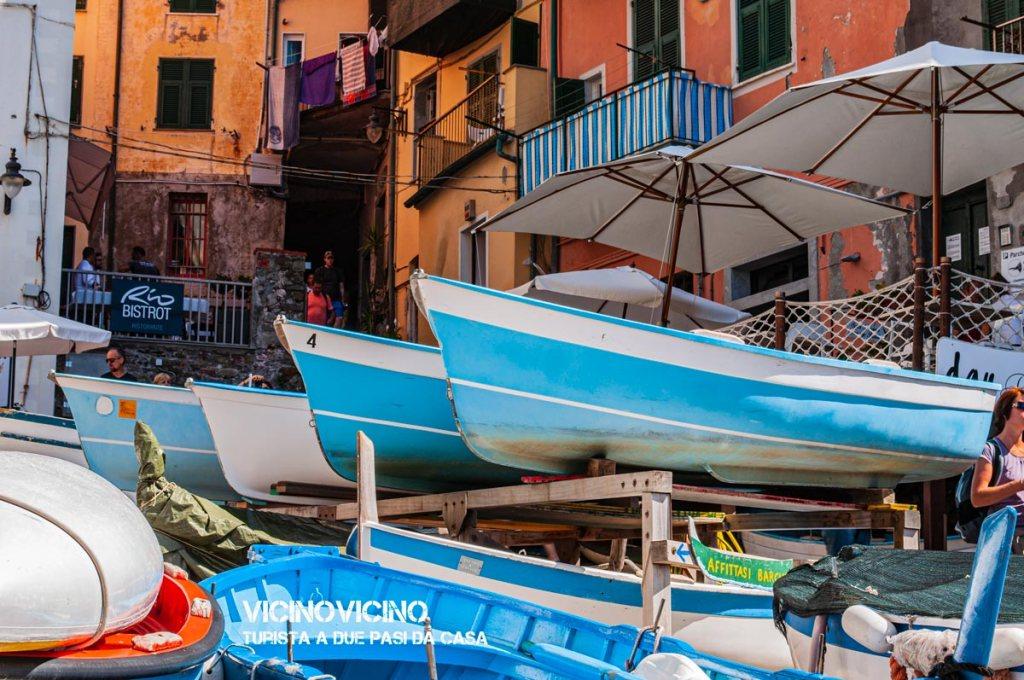 Riomaggiore, la marina