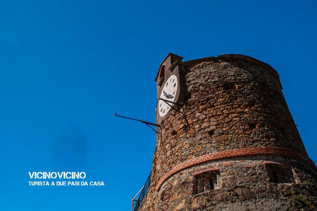 Riomaggiore, la torre dell'Orologio