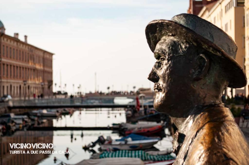 Trieste, statua di James Joyce