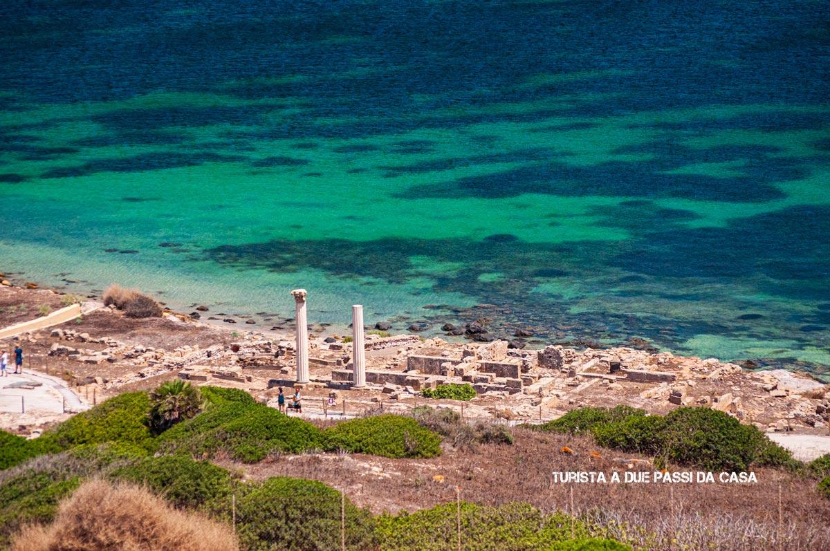 Capo San Marco, il sito archeologico di Tharros