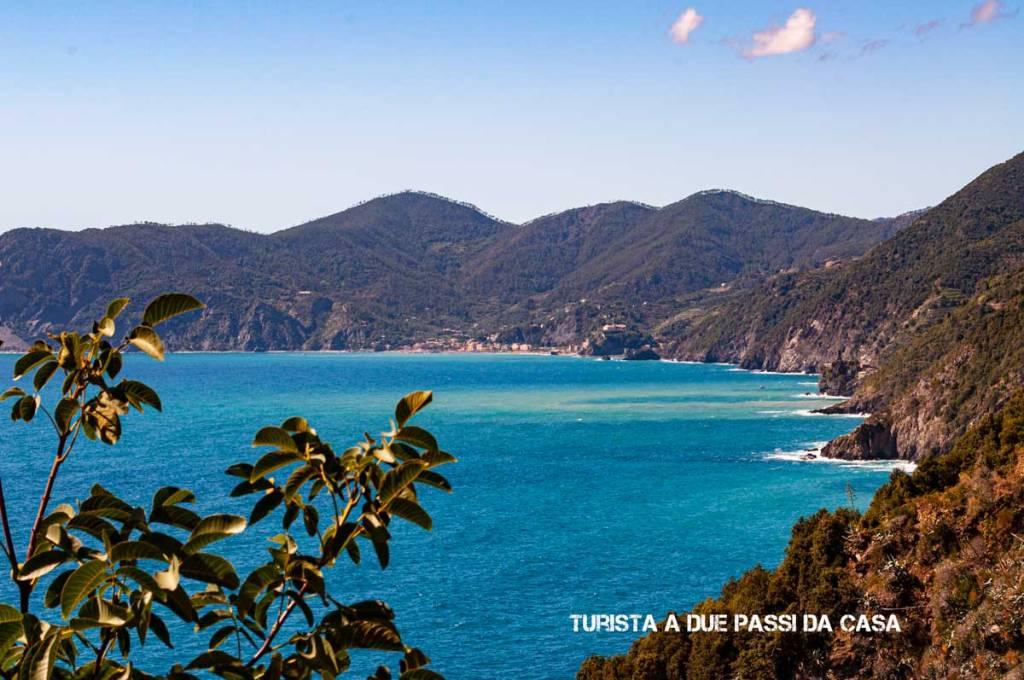 Corniglia, panorama verso Monterosso