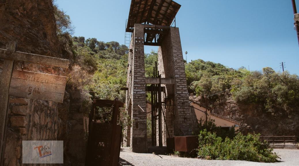 Miniere Ingurtosu, pozzo Gall - Turista a due passi da casa
