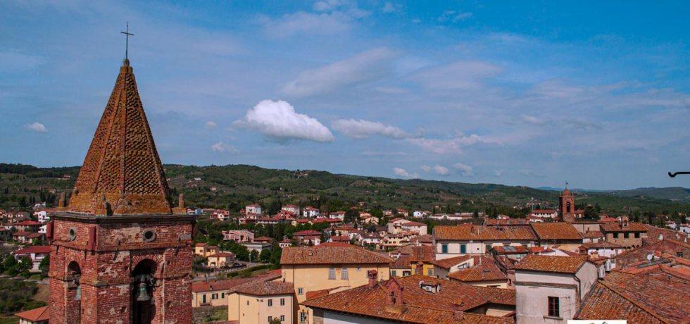 Monte San Savino, panorama - Turista a due passi da casa