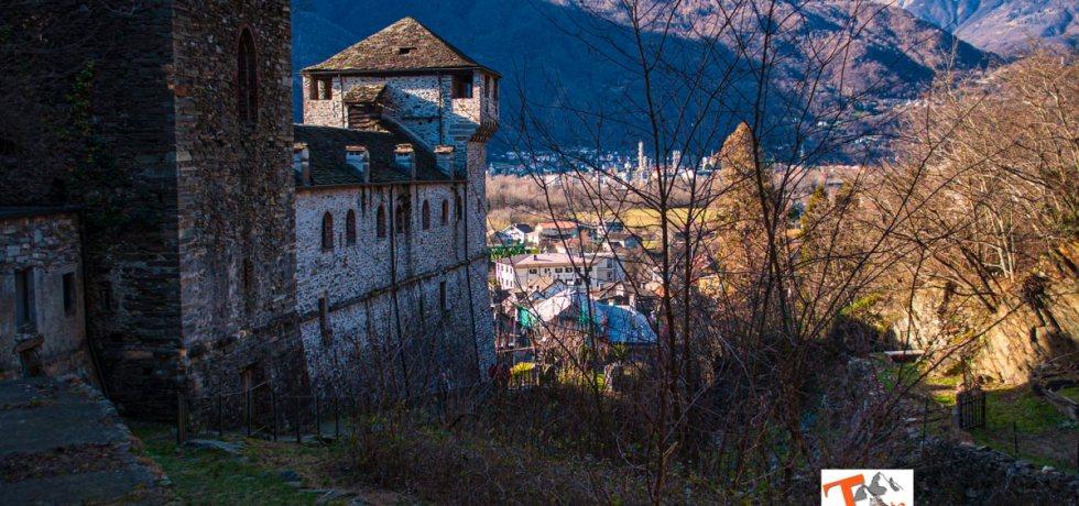 Vogogna vista dal castello - Turista a due passi da casa