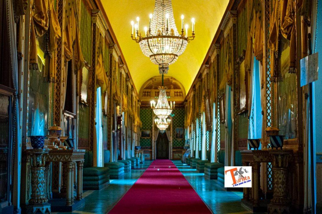 Castello di Agliè, sala delle Dame- Turista a due passi da casa