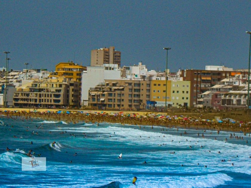 Las Palmas, Playa de Las Canteras - Turista a due passi da casa