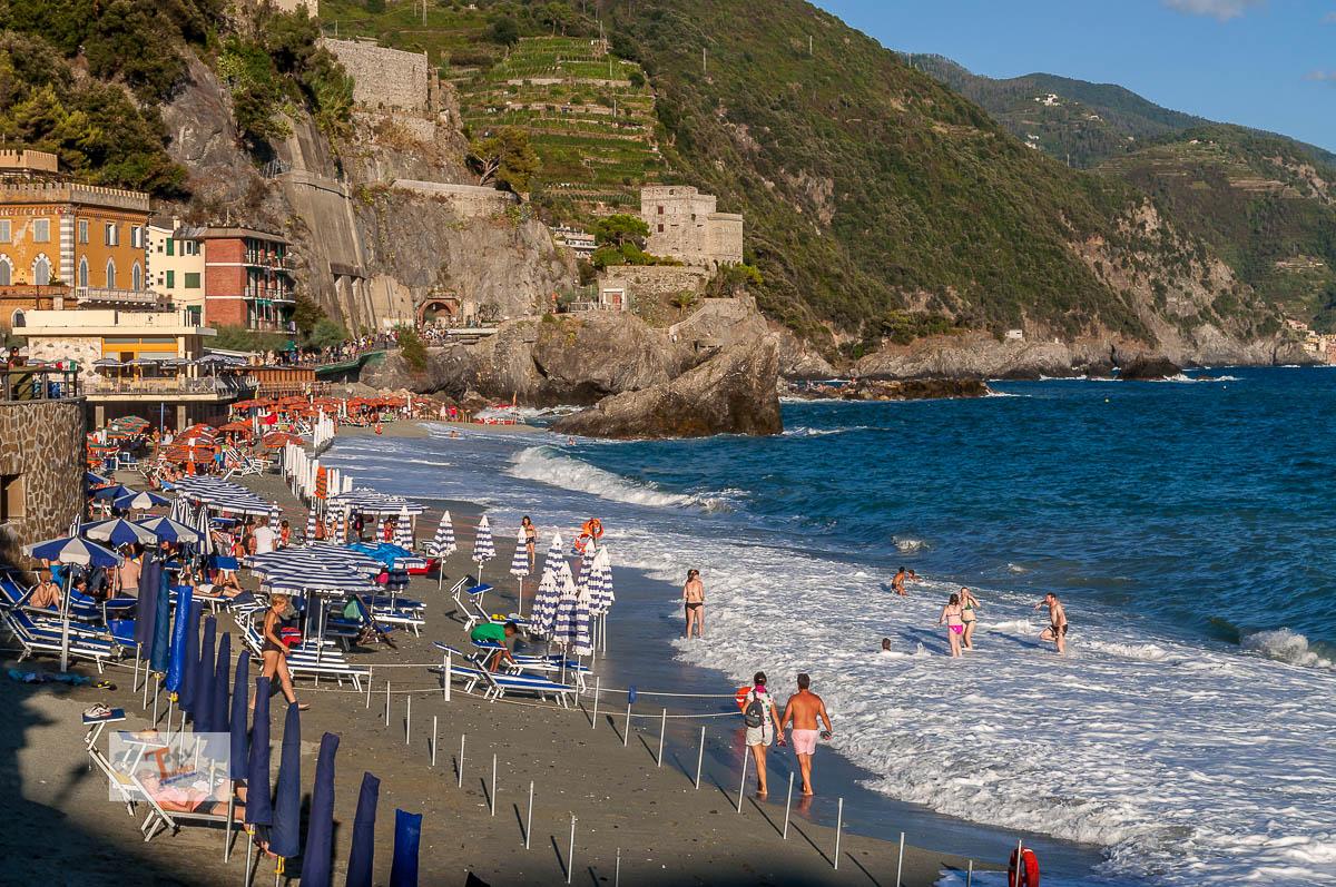 Monterosso al mare, spiaggia - Turista a due passi da casa