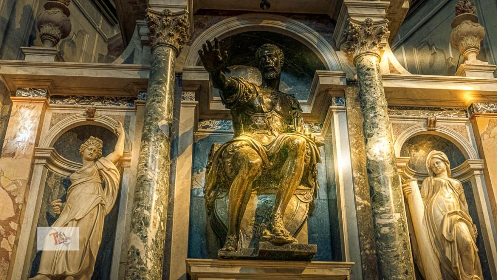 Sabbioneta, Chiesa Incoronata, mausoleo Gonzaga - Turista a due passi da casa