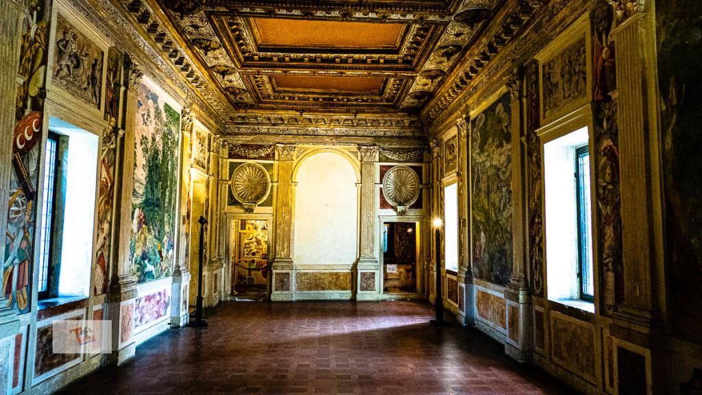 Sabbioneta, Palazzo Giardino, galleria - Turista a due passi da casa