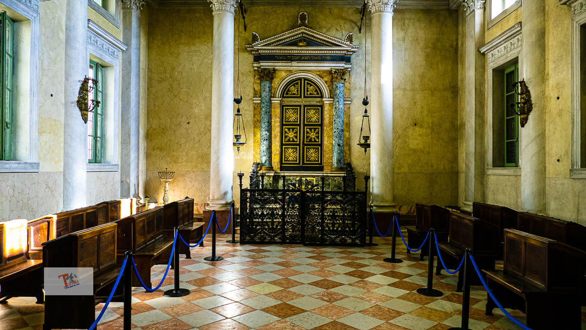Sabbioneta, Sinagoga, sala della preghiera - Turista a due passi da casa