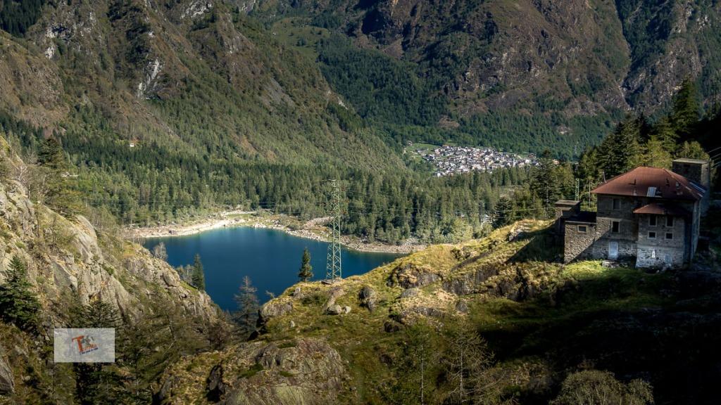 Lago di Antrona, visto dal lago di Campliccioli - Turista a due passi da casa