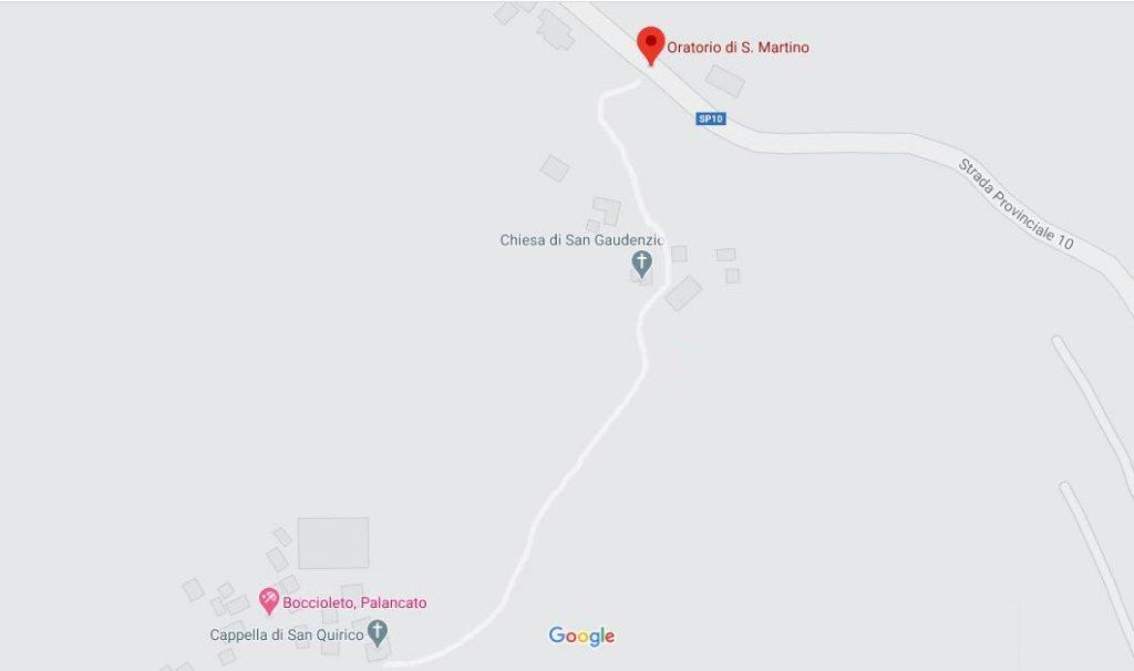 Mappa percorso - Google Maps - Turista a due passi da casa