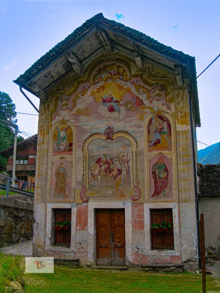 Piaggiogna, Oratorio di San Martino - Turista a due passi da casa