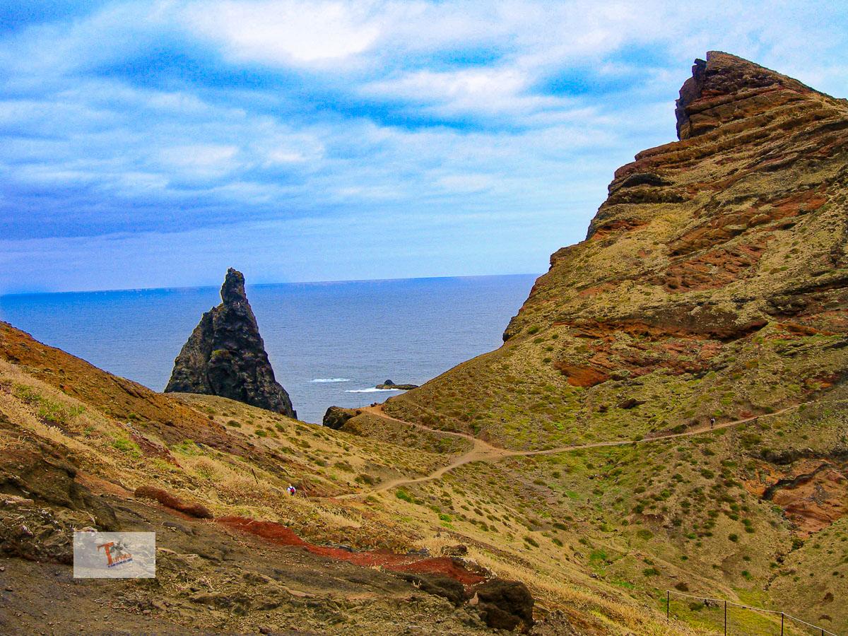 Madeira, Ponta de Sao Lorenco - Turista a due passi da casa