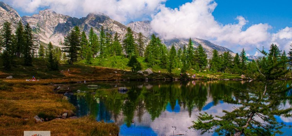 Lago di Ragozza, riflesso - Turista a due passi da casa