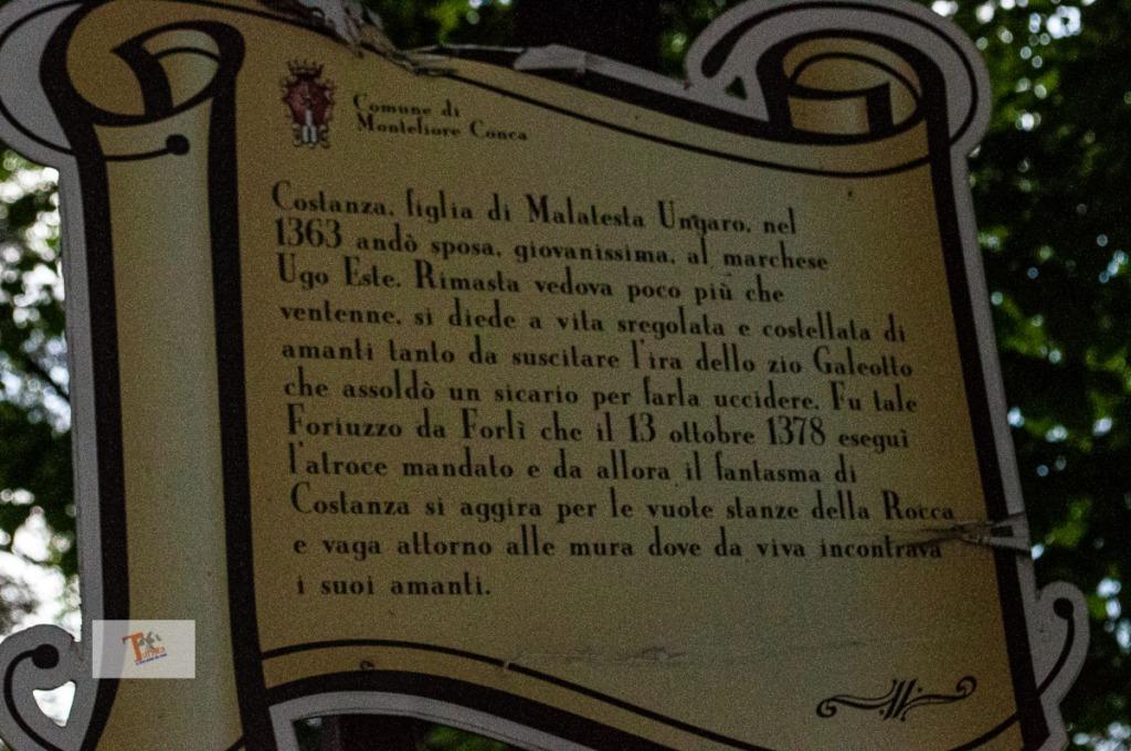 Montefiore Conca, leggenda- Turista a due passi da casa