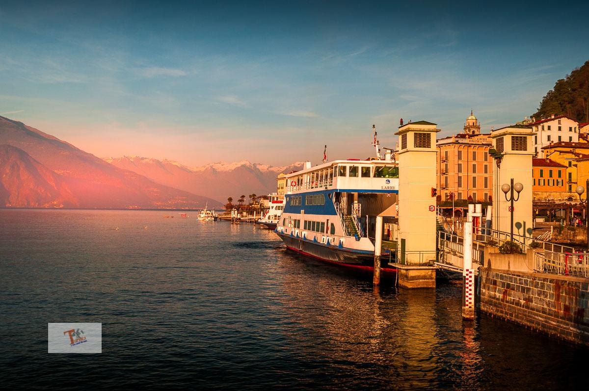 Bellagio, imbarcadero - Turista a due passi da casa