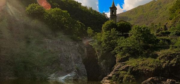 Orrido e chiesa di Sant'Anna - Turista a due passi da casa