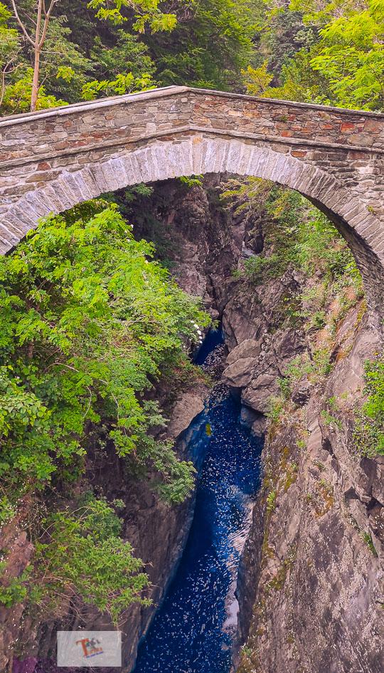 Orrido Sant'Anna, ponte medievale - Turista a due passi da casa