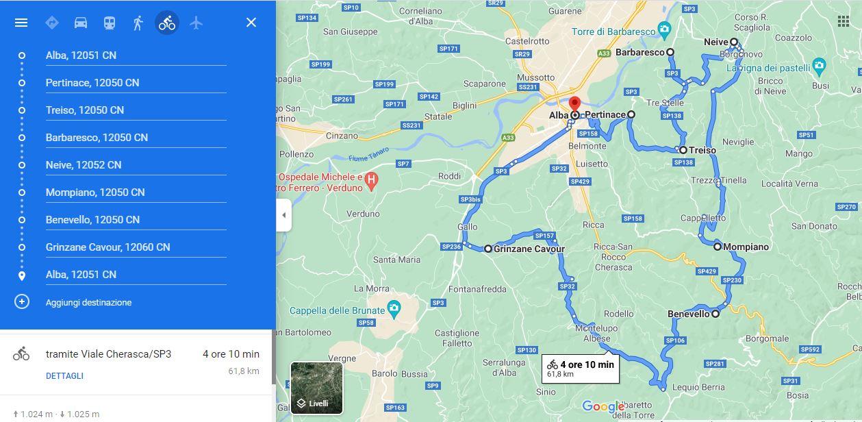 Mappa tour , Google Maps - Turista a due passi da casa