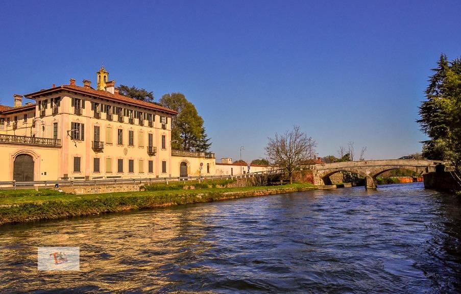 Navigli di Milano, villa sul Naviglio Grande- Turista a due passi da casa