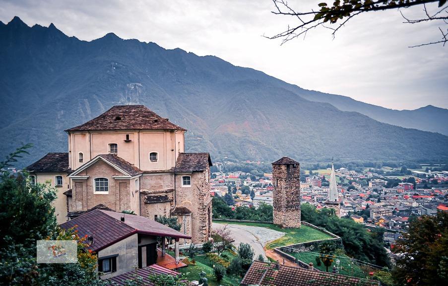 Ornavasso, Chiesa Madonna Guardia e Torre medievale- Turista a due passi da casa