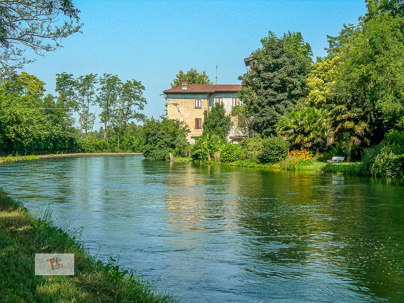Castelletto di Cuggiono, il Naviglio- Turista a due passi da casa