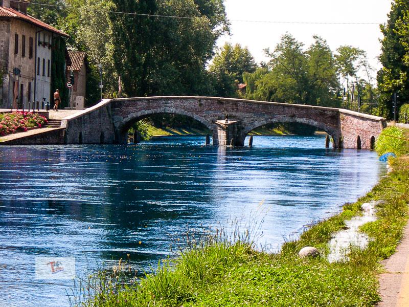 Castelletto di Cuggiono, ponte in pietra - Turista a due passi da casa