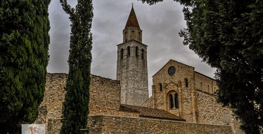 Aquileia, Basilica- Turista a due passi da casa