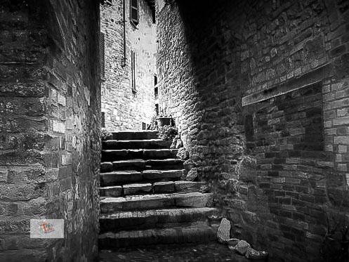 Castell'Arqauto, vicolo - Turista a due passi da casa