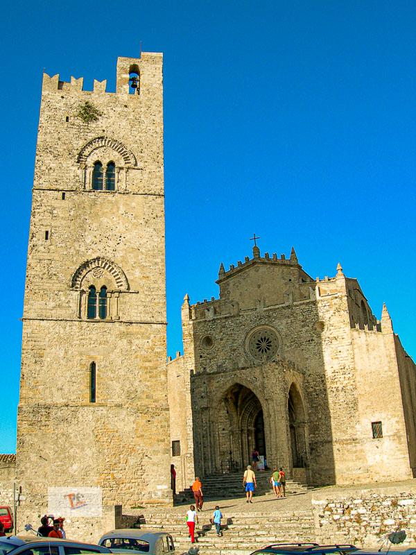 Erice, Chiesa Matrice e torre campanaria - Turista a due passi da casa
